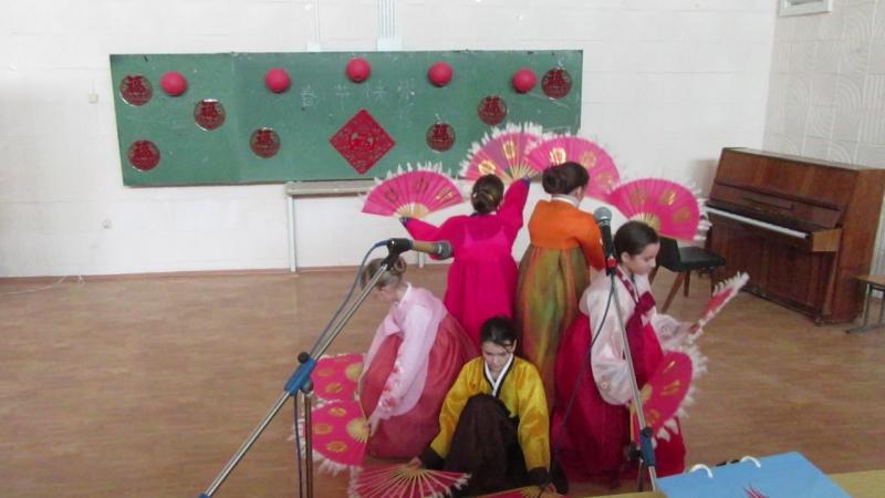 Ученики корейской школы