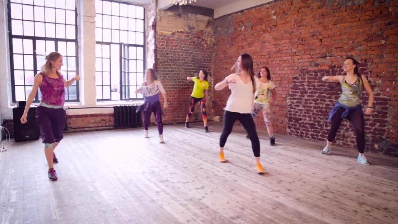 Танцевальная фитнес программа Zumba® в ритме реггетона