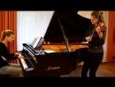 Король и Шут - Проклятый старый дом _ кавер на пианино и скрипке