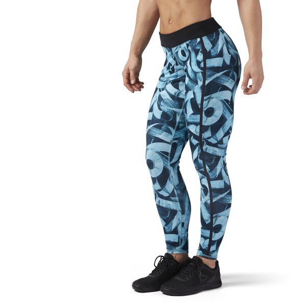 Леггинсы Reebok CrossFit Pokras