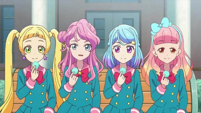 Aikatsu Friends! / Друзья Айкацу! - 8 серия (RAW)