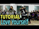 LOVE YOURSELF - Justin Bieber Dance TUTORIAL | @MattSteffanina Choreography