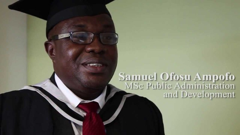 Public Administration and Development (Distance Learning) MSc