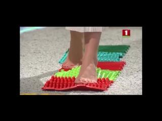 Специалисты о пользе массажных ковриков