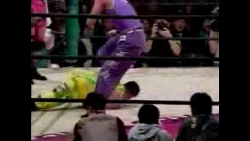 8. WWWA Tag Team Championship best of 3 falls- Manami Toyota, Toshiyo Yamada (c) vs Dynamite Kansai, Mayumi Ozaki (11.26.1992)
