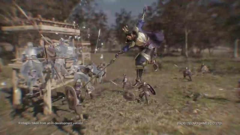 Трейлер персонажа Cao Cao из игры Dynasty Warriors 9