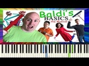 Baldi's Basics The Musical - Piano Cover / Tutorial - Random Encounters