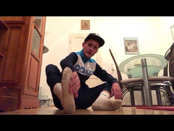 Meine Air Max, Nike Socks Boyfeet für Dich - verbal (deutsch)