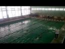 Первое соревнование по плаванью !