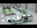 Autonics Резиновый экструзионный пластиковый процесс литья под давлением