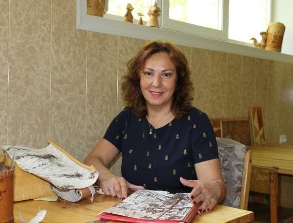 Берестяных дел мастер – Валентина Слюкова