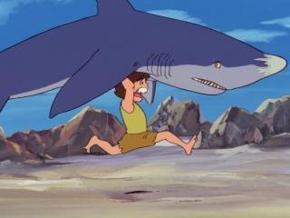 аниме: Конан - мальчик из будущего(Future Boy Conan, 1978 год) - 01 (RUS озвучка) (эпичное, пост-апокалипсис, приключение)