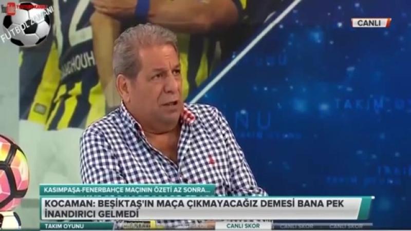 Erman Toroğlu -Beşiktaş Fenerbahçe Derbisine Helikopter İle Geleçek