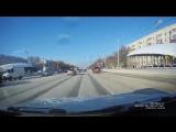 Отличная реакция у водителя проспект Октября Уфа
