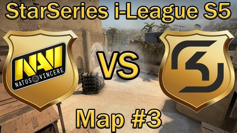 НАВИ или СК кто пройдет в ПОЛУФИНАЛ? | NaVi vs SK Map 3 (bo3) de_mirage [RU] | StarSeries S5