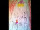 Кот в сапогах и белая кошечка движение и рисунок