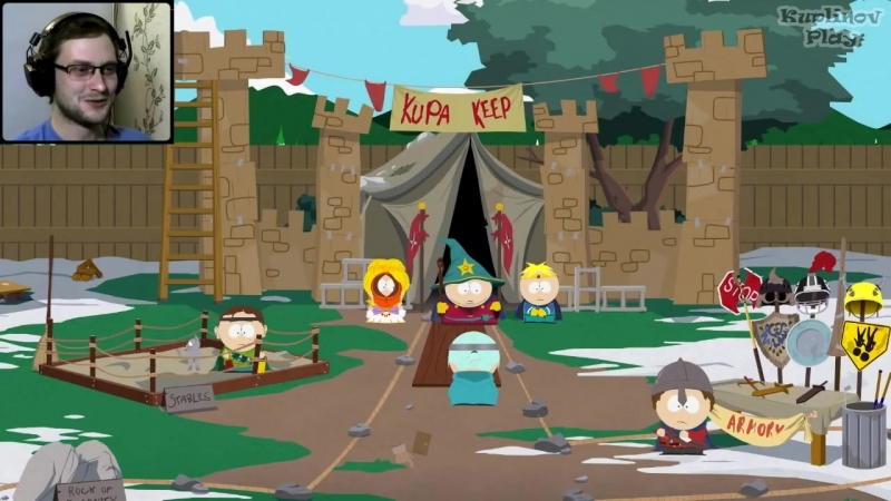 [Kuplinov ► Play] South Park: The Stick of Truth Прохождение ► ГРАБЕЖ ► 1