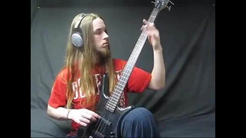 Cannibal Corpse - I cum blood on bass guitar