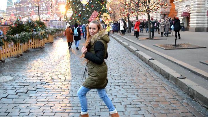 """Катарина on Instagram: """"Признавайтесь, кому посчастливилось погулять по новогодней Москве? Как вам праздничное оформление?🎄🎉🎊🎆 По мне, так этот год..."""