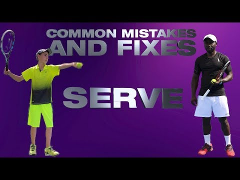 Common Mistakes and Fixes Serve by Rashid Sido
