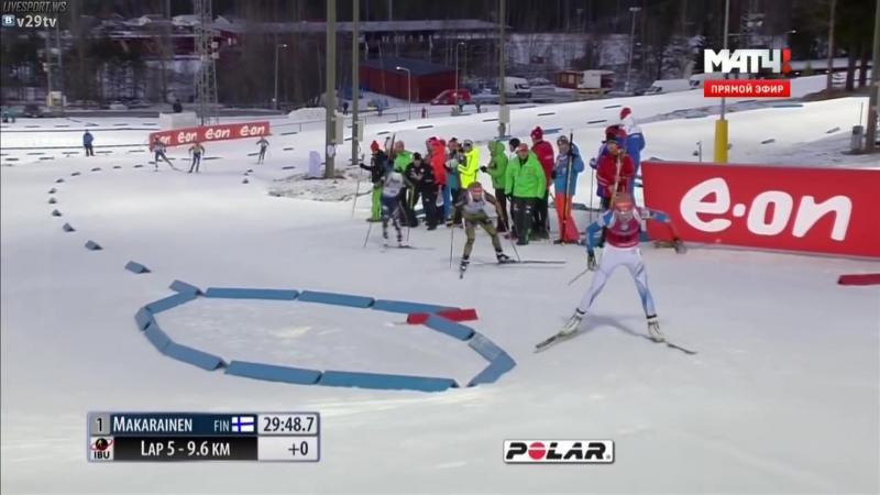 Östersund 05.12.2015. Kaisa Mäkäräinen wins.