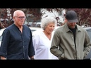 EXCLUSIVE Action Star Jason Statham Spending Time With His Parents In Malibu
