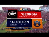 NCAAF 2017 / Week 11 / (1) Georgia Bulldogs - (10) Auburn Tigers / 2Н / 11.11.2017 / EN