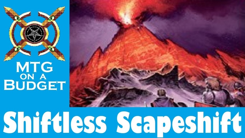 MTG on a Budget: Scapeshiftless Scapeshift (20 Tix) in Modern!