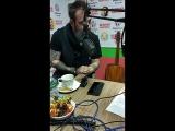 Адам Гонтье в студии радио Миллениум!