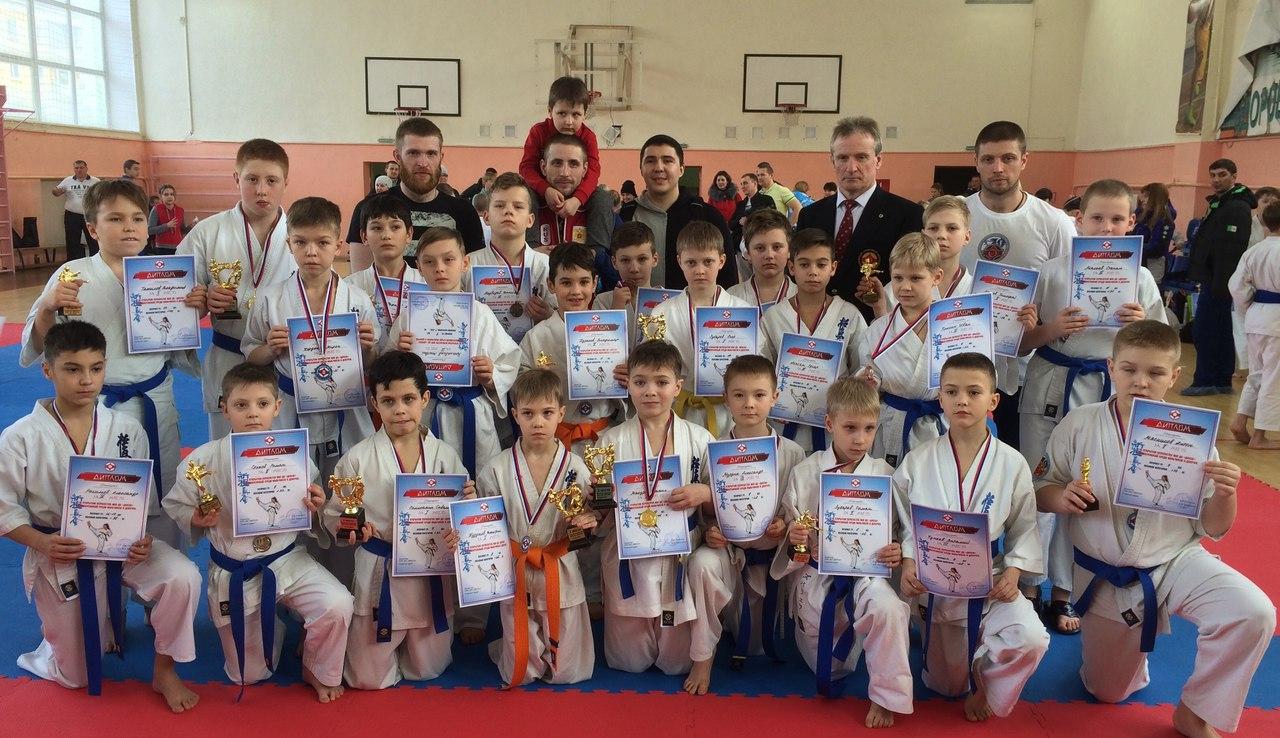 Соревнования по Киокусинкай в Кировограде