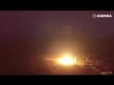 Захватывает дух — кадры запуска ракеты «Тополь»