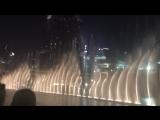Поющие танцующие фонтаны Дубай, ОАЭ. Евгения Нагорных