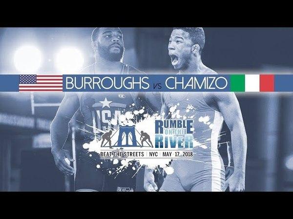 Beat The Streets. Jordan Burroughs (USA) - Frank Chamizo (Italy). Джордан Барроуз - Франкк Чамизо