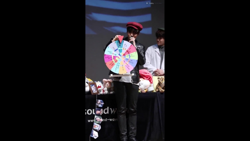 180113 Suwon Fansign YoungK - Bad Day snippet