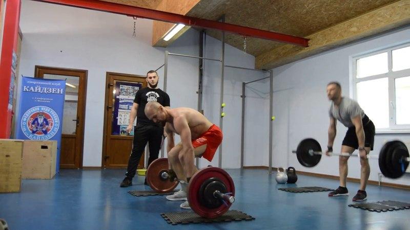 CrossFit-заруба в Феодосии 15.04.2018. Мужчины А. Финал