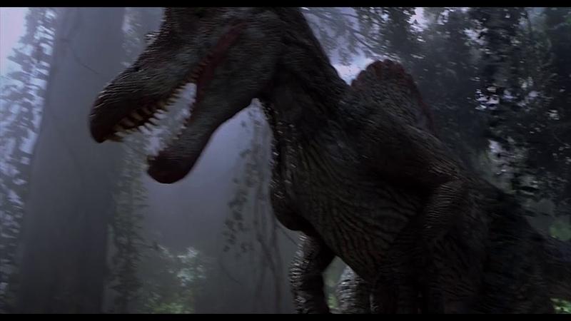Тирекс против Спинозавра. Парк Юрского периода 3 (Jurassic Park 3)