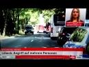 DA WAR DER TÄTER NOCH NICHT DEUTSCH Terror in Lübeck Kücknitz Iraner 35 attackiert BürgerInnen