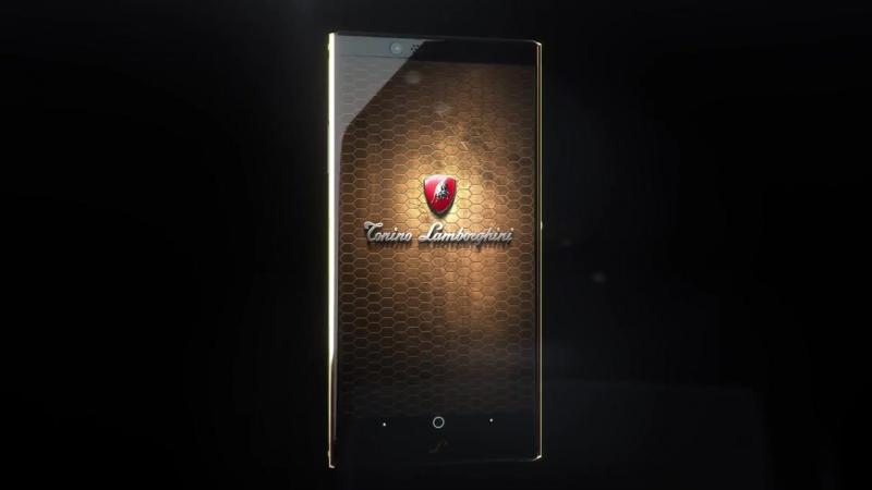 TONINO LAMBORGHINI ALPHA ONE LUXURY SMARTPHONE