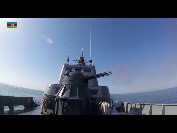 Hərbi Dəniz Qüvvələrinin praktiki təlim məşqləri keçirilib - 07.06.2018