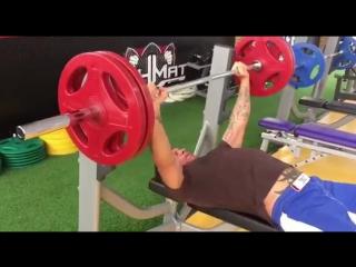 Александр Емельяненко - Жим Лежа 120 кг на 12 раз