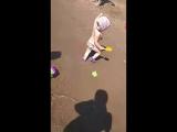 Играем на пляже