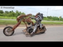 Самый зрелищный мотоцикл и мотоциклист