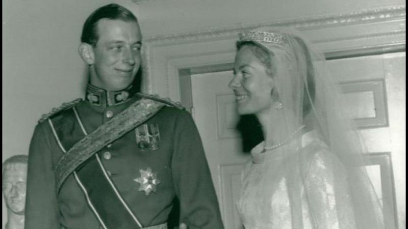 Свадьба герцога Кентского Эдварда и Екатерины Уорсли, 8 июня 1961г.