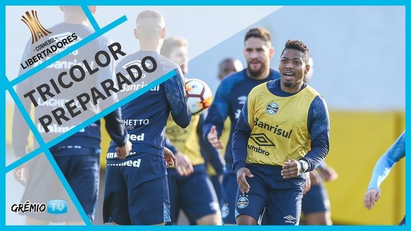 Tricolor pronto para encarar o Estudiantes l GrêmioTV