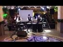 Шоу бешеных барабанщиков в ресторане Каспий