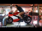 Superleggera 1299 first test Ducati Herzele