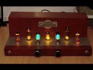 Ламповый усилитель Camerton на 6П14П+6Н2П+6Е1П+СГ2П
