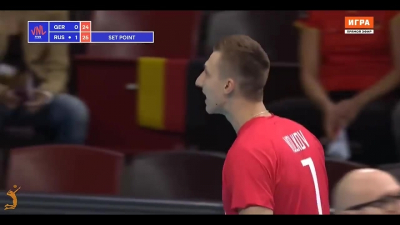 Top 10 incredible action from Dmitry Volkov. Best OUTSIDE SPIKES VNL 2018