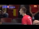 Top 10 incredible action from Dmitry Volkov. Best OUTSIDE SPIKES VNL 2018/