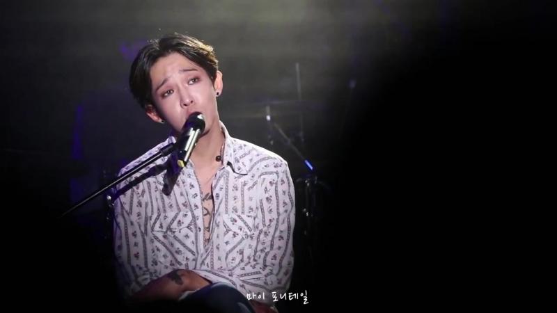 171105 뮤직 팬미팅 도쿄1부 사우스클럽(South Club) - 눈의 꽃(cover)(남태현 focus)
